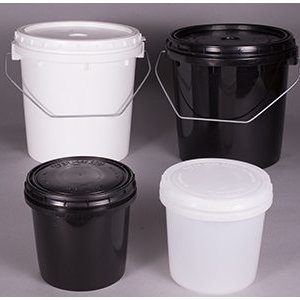 Containers with Vapor Lock Covers